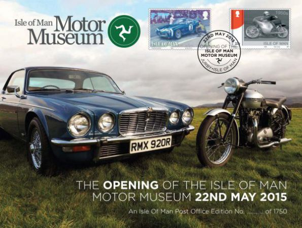 Isle of Man Motor Museum Special Cover