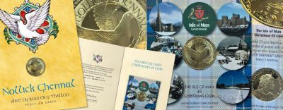 IOM POST OFFICE SPREADS PEACE AND LOVE  WITH IOM GOVERNMENT TREASURY'S  2017 CHRISTMAS £5 COIN