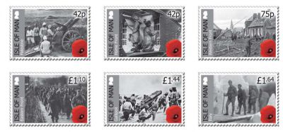 Isle of Man Post Office commemorates landmark Anniversary of WWI with Battle Fronts stamp issue