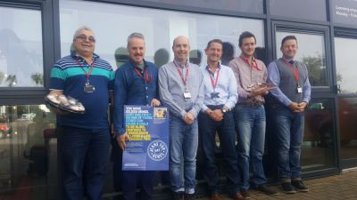 Isle of Man Post Office raised £224 for Jeans for Genes Day
