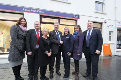Laxey Post Office opening event