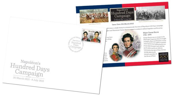Napoléon's Hundred Days Campaign First Day Cover
