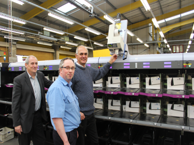 Significant investment in mail automation machinery
