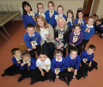 House of Keys coin pack presentations at Onchan and Ashley Hill Primary Schools
