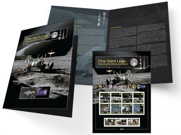 One Giant Leap Commemorative Sheetlet