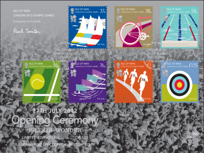 London 2012 Olympic Games Opening & Closing Ceremony special commemorative covers