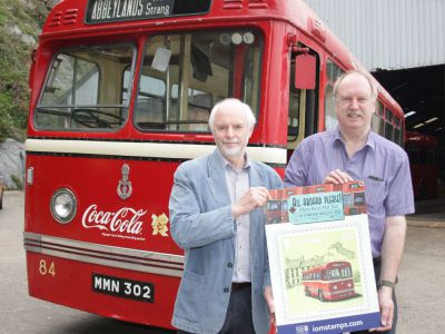 Get on board with the Post Offices new colourful vintage bus stamp collection