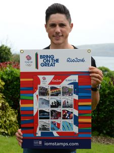 Isle of Man Post Office leads the way with Team GB stamp collectibles for Rio 2016 Olympic Games