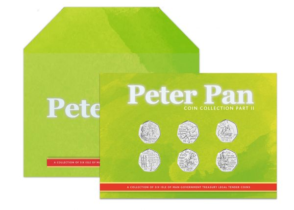2020 Peter Pan Part II Six 50p Coin Collection Pack