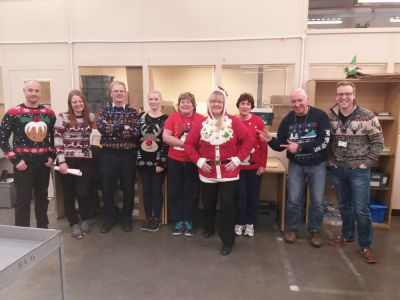 IOM POST OFFICE STAFF PULLS TOGETHER TO SPREAD CHRISTMAS CHEER