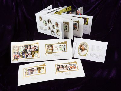 Isle of Man Post Office prestige booklet celebrating long reign of HM Queen Elizabeth II