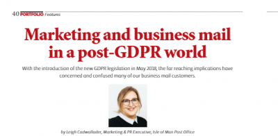 Marketing and business mail in a post-GDPR world