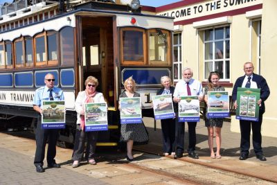 Snaefell Mountain Anniversary Stamps Travel to Snaefell Summit