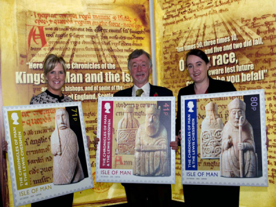First stamp issue of 2013 unveiled at the Manx Museum ahead of exhibition opening