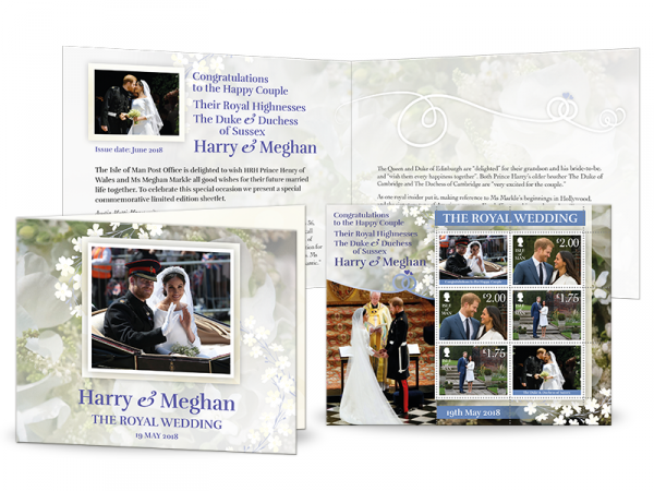 Harry & Meghan - A Celebration: Royal Wedding Day Sheetlet
