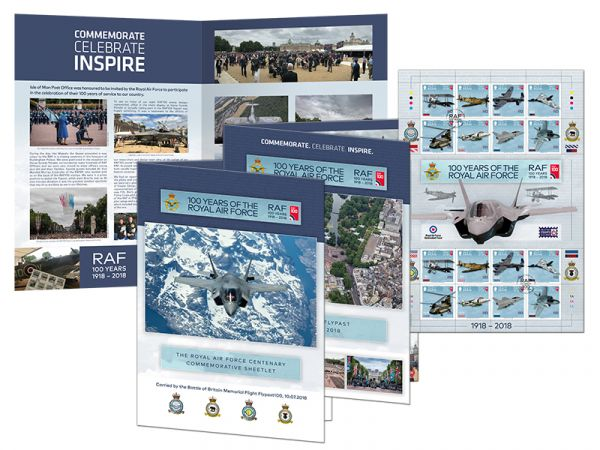 100 Years of the Royal Air Force - Special Flypast Commemorative Sheetlet