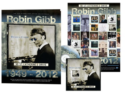 Family launch of Robin Gibb CBE stamp issue tomorrow