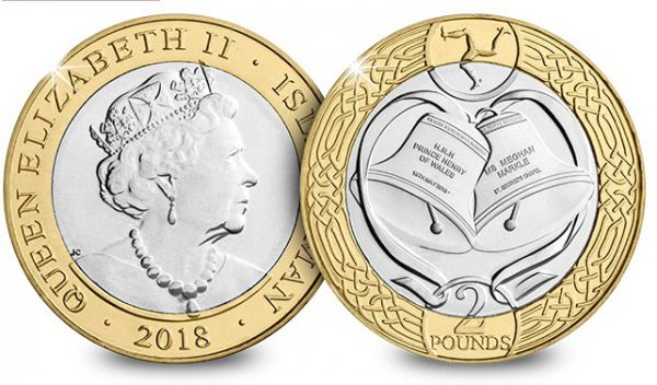 Harry & Meghan Royal Wedding £2 Coin