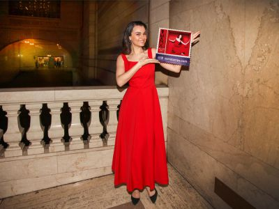 DRESS FOR SUCCESS – A CHANCE TO OWN  A PREEN BY THORNTON BREGAZZI DRESS, MODELLED BY SAMANTHA BARKS