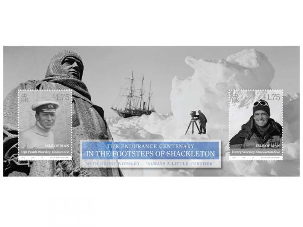 In the Footsteps of Shackleton Miniature Sheet