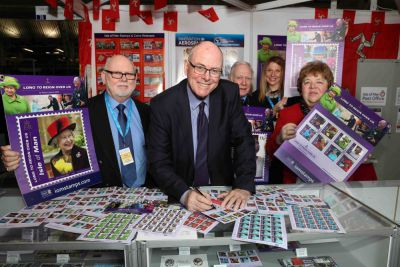 Isle of Man Stamps & Coins representatives return triumphantly from Stampex Diamond Jubilee show