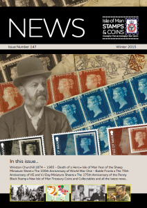 Isle of Man Stamps and Coins unveils exciting new stamp issues in latest newsletter edition