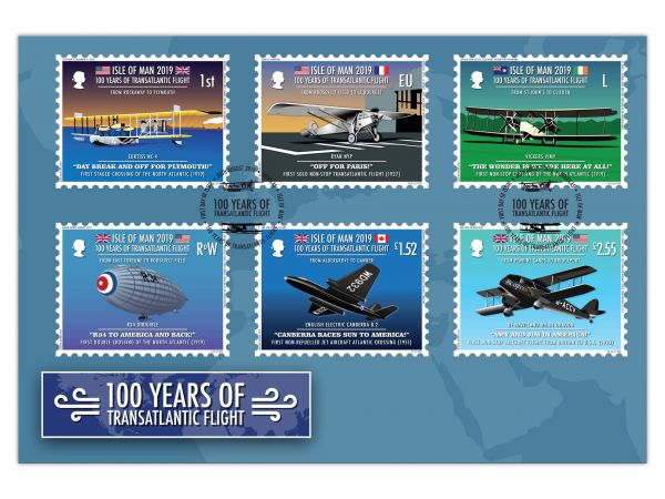 100 Years of Transatlantic Flight First Day Cover