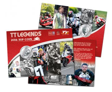 Isle of Man Post Office celebrates more heroes and legends of the TT