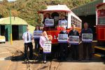Isle of Man Post Office issues stamp collection to mark 125 years of the Manx Electric Railway
