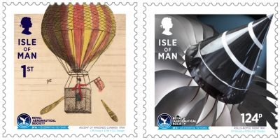 ISLE OF MAN POST OFFICE AND ROYAL AERONAUTICAL SOCIETY GET READY FOR LAUNCH