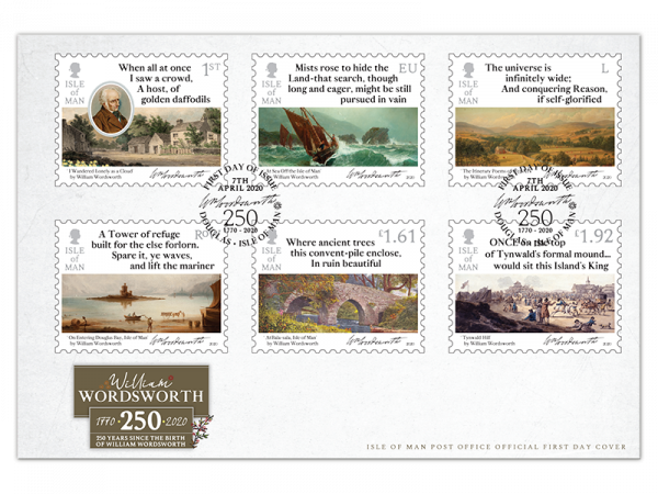 William Wordsworth First Day Cover
