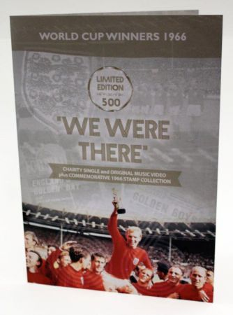 Limited Edition World Cup Winners England 1966 Charity Single & Stamps