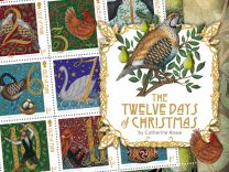 The Twelve Days of Christmas by Catherine Rowe Stamp Collection