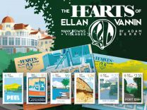 The Hearts of Ellan Vannin - Manx Towns & Villages by Adam Berry