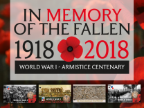 First World War Centenary 1918-2018