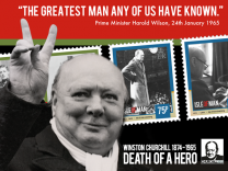 Winston Churchill 1874 - 1965 Death of a Hero