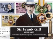 Sir Frank Gill KCMG OBE Telecommunications Engineer & Global Visionary