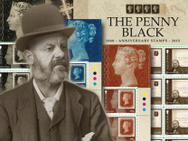 175th Anniversary of The Penny Black and the Birth of Stanley Gibbons