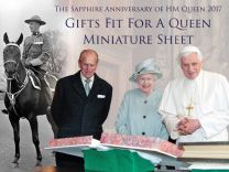The Sapphire Anniversary of HM - Gifts fit for a Queen Miniature Sheet