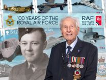 100 Years of the Royal Air Force Stamp Collection
