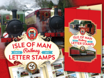 Isle of Man Railway Letter Stamps