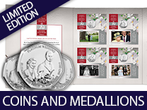 Coins & Medallions up to 2017!