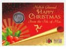 Isle of Man 2016 Christmas Pudding 50p in Gift Pack