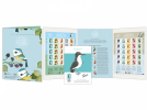 Matt Sewell's Birds Stamp Sheet Album