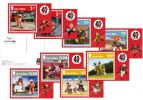 Aardman - 40 Years of Creativity Stampcards