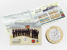 D-Day 75 Limited Edition Commemorative Sheetlet and Coin Gift Pack
