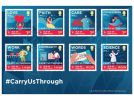 #CarryUsThrough  First Day Cover