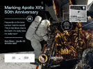 Apollo 12 Limited Edition Alan Bean Commemorative Cover