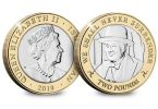 D-Day Commemorative £2 Coin - Winston Churchill