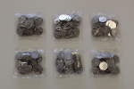 Peter Pan Part 2 Circulating Quality Bagged Coins x 50 sets